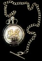 gold welsh dragon pocketwatch